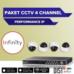 Paket CCTV Infinity 4 Channel Performance IP