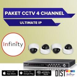 Paket CCTV Infinity 4 Channel Ultimate IP