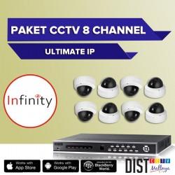 Paket CCTV Infinity 8 Channel Ultimate IP