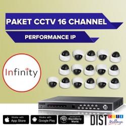 Paket CCTV Infinity 16 Channel Performance IP