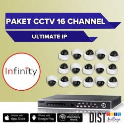 Paket CCTV Infinity 16 Channel Ultimate IP
