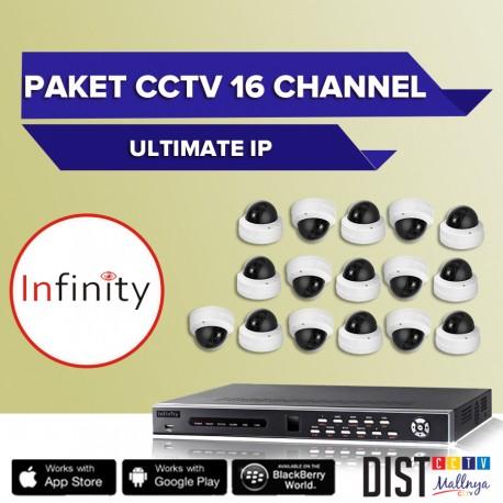 Paket CCTV Infinity 16 Channel Ultimate IP