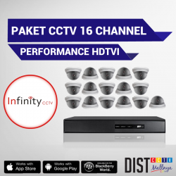 Paket CCTV Infinity 16 Channel Performance