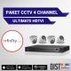 Paket CCTV Infinity 4 Channel Ultimate HDTVI