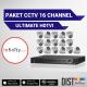 Paket CCTV Infinity 16 Channel Ultimate HDTVI