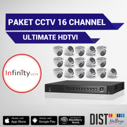 Paket CCTV Infinity 16 Channel Ultimate