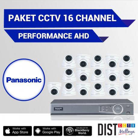 Paket CCTV Panasonic 16 Channel Performance AHD