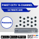 Paket CCTV Panasonic 16 Channel Ultimate AHD