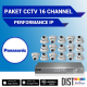 Paket CCTV Panasonic 16 Channel Performance IP