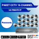 Paket CCTV Panasonic 16 Channel Ultimate IP