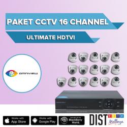Paket CCTV Omniview 16 Channel Ultimate HDTVI