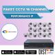 Paket CCTV Omniview 16 Channel Performance IP