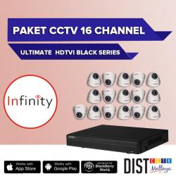 Paket CCTV Infinity 16 Channel Ultimate Black Series
