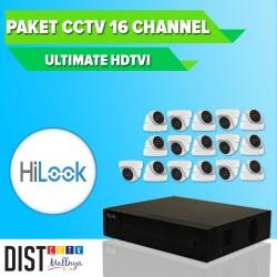 Paket CCTV HiLook 16 Channel Ultimate