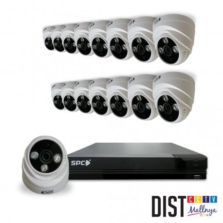 www.distributor-cctv.com - Paket CCTV SPC 16 Channel Performance HD