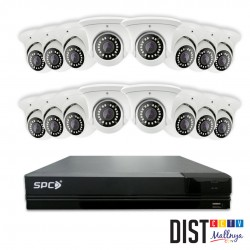 Paket CCTV SPC 16 Channel Performance IP (STARLIGHT)