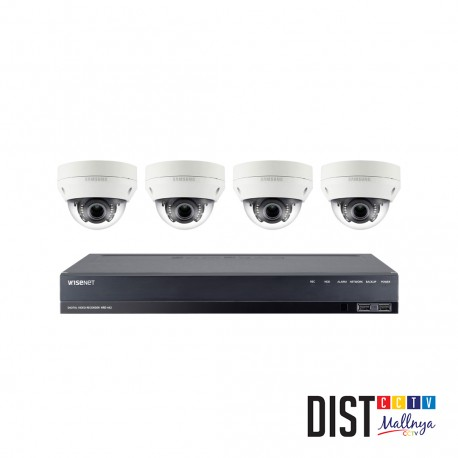 Paket CCTV Samsung 4 Channel Ultimate IP