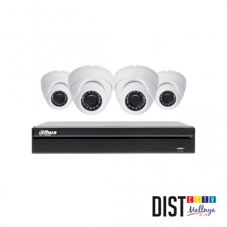 Paket CCTV DAHUA 4 Channel Ultimate HDTVI