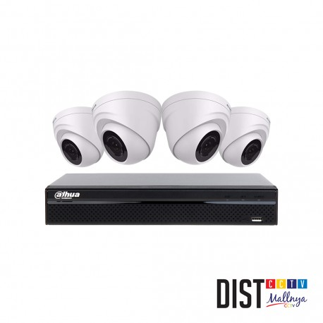 Paket CCTV Dahua 4 Channel Performance IP