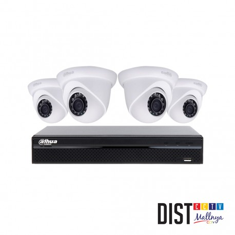 Paket CCTV Dahua 4 Channel Ultimate IP