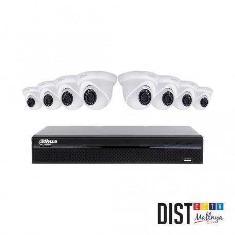 Paket CCTV Dahua 8 Channel Ultimate IP