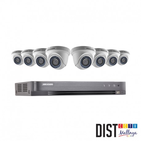 Promo Pahlawan Paket CCTV HIKVISION 8 Channel 2MP