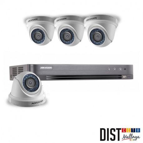Paket CCTV Hikvision 4 Channel Performance HDTVI