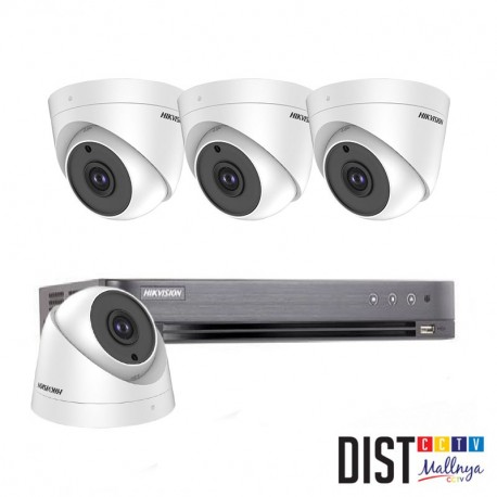 Paket CCTV HIKVISION 4 Channel Ultimate HDTVI