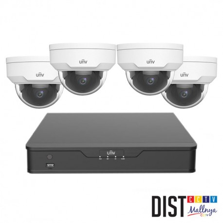 Paket CCTV Uniview 4 Channel Performance IP