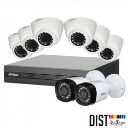 Promo Paket CCTV DAHUA 8 Channel 4MP